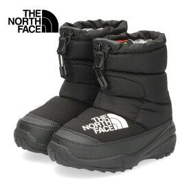 ザ ノースフェイス キッズ ブーツ THE NORTH FACE K Nuptse Bootie VI NFJ51981 KK BB/11-51981 ヌプシブーティーVI ブラック セール