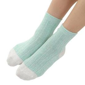ソックス 靴下 レディース 女性 綿 麻 シルク 冷えとり ふわふわ 3足組セット ka2520
