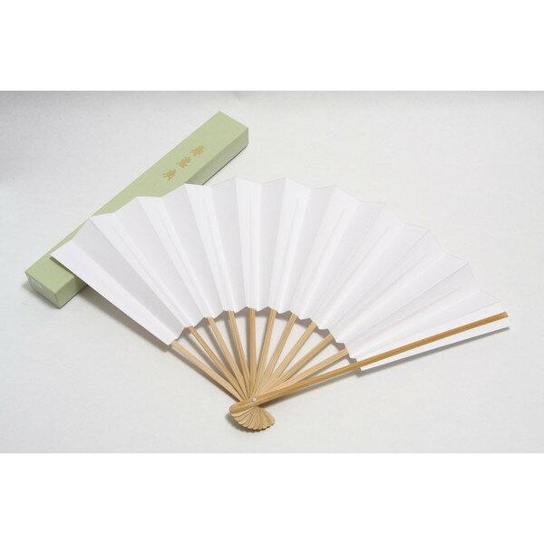 9寸 扇 扇子 紳士用 男性 日本製 礼装用 白扇 無地 9寸11本骨 紙箱入