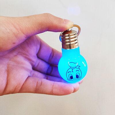 【単価42円(税別)×12個セット】ディズニー電球ライト光るおもちゃ電球型かわいいキャラクターミッキーマウスクリアピカピカ子供会縁日お祭り景品