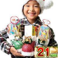 送料無料★クリスマスブーツキラキラファンタジー21cmお菓子入り