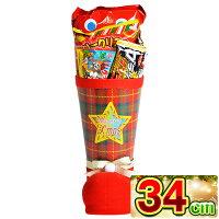クリスマスブーツタータン33cmサンタブーツサンタクロースChristmasお菓子詰め合わせプレゼント送料無料子ども会子供会