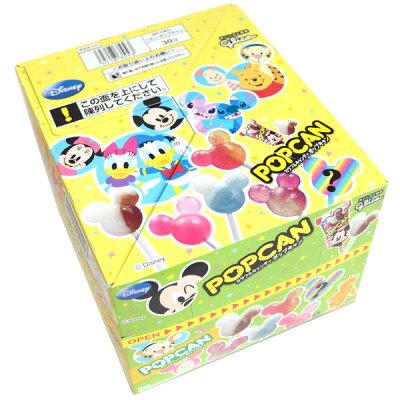 駄菓子グリコディズニーポップキャン30入アメあめキャンディ棒付きDisneyミッキーマウスミニーマウスおもちゃ玩具パーティー縁日子ども会子供会お祭り問屋