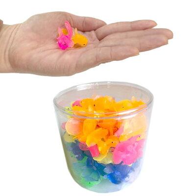 【すくい人形】【幼稚園夏祭り景品】縁日子ども会子供会景品やわらかミニきんぎょ100個入り子ども会子供会景品玩具おもちゃ雑貨グッズ縁日金魚すくいお祭り問屋