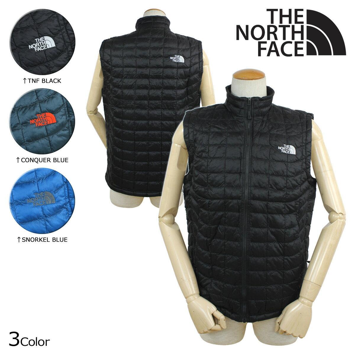 THE NORTH FACE ノースフェイス ベスト キルティングベスト MEN'S THERMOBALL VEST メンズ