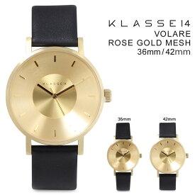 クラス14 メンズ KLASSE14 42mm 36mm レディース 腕時計 VOLARE GOLD ヴォラーレ VO14GD001M VO14GD001W