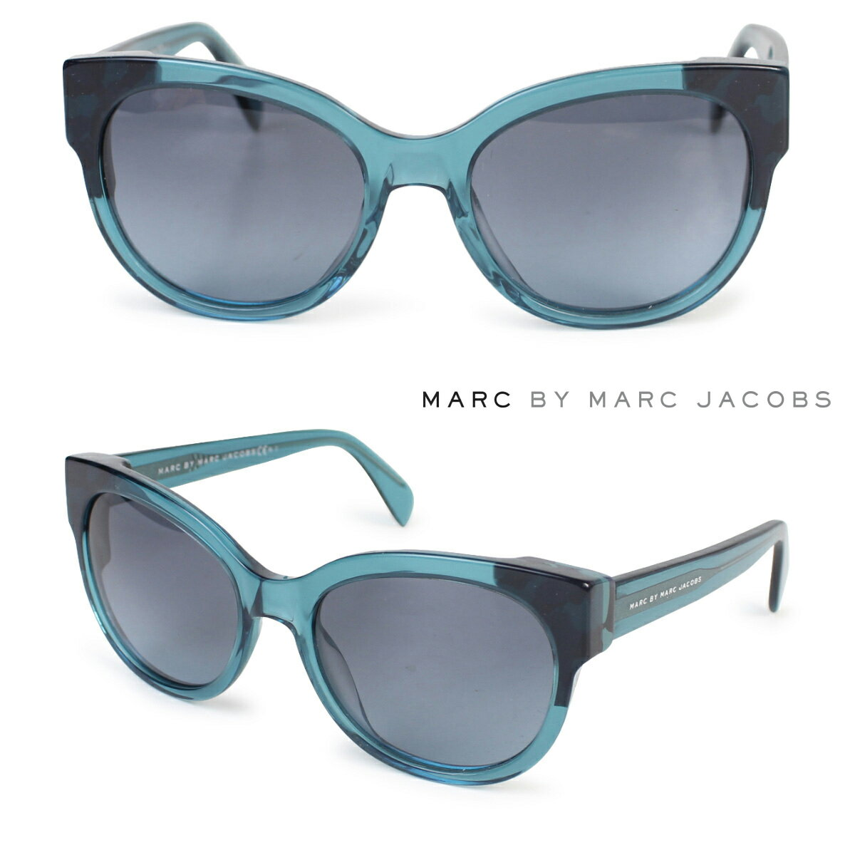 MARC BY MARC JACOBS マーク バイ マーク ジェイコブス サングラス レディース UVカット MMJ486/S ブルー