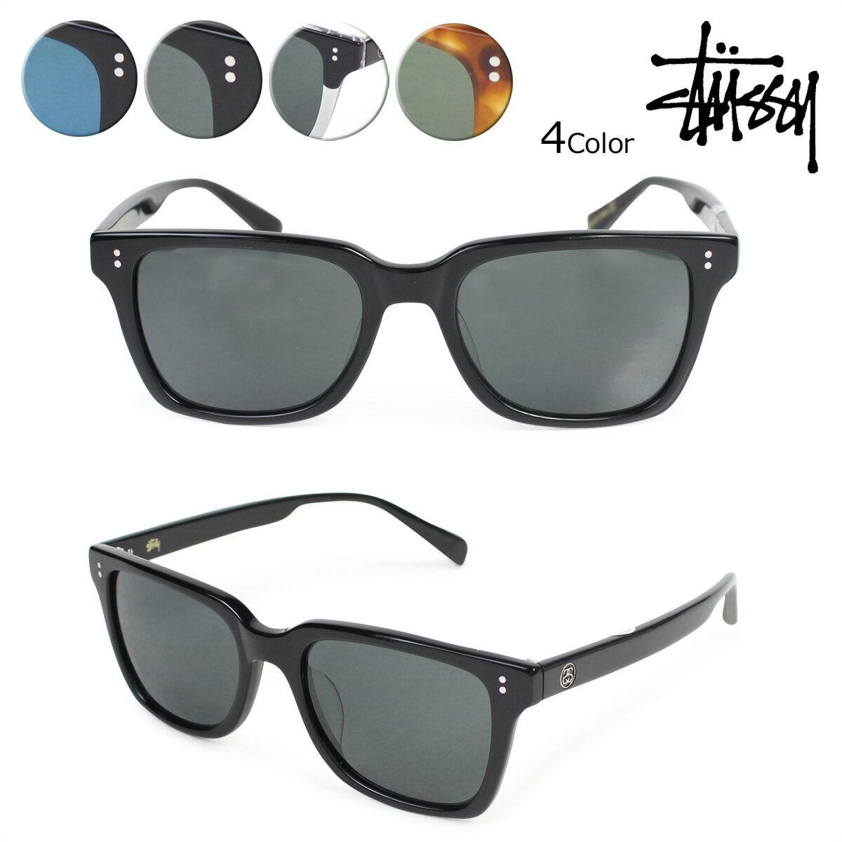 ステューシー STUSSY サングラス メンズ レディース UV カット アンジェロ ANGELO EYEGEAR 140014 4カラー 【決算セール】