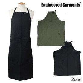 ENGINEERED GARMENTS NEW LONG APRON エンジニアードガーメンツ エプロン 大きいサイズ レディース メンズ 無地 ロング 丈 F7H0661 F7H0663 カーキ ブラック