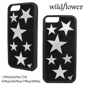 e558c30c23 wildflower iPhone8 X 7 iPhone 6 6s Plus ワイルドフラワー ケース スマホ スマホ アイフォン レディース  ブラック