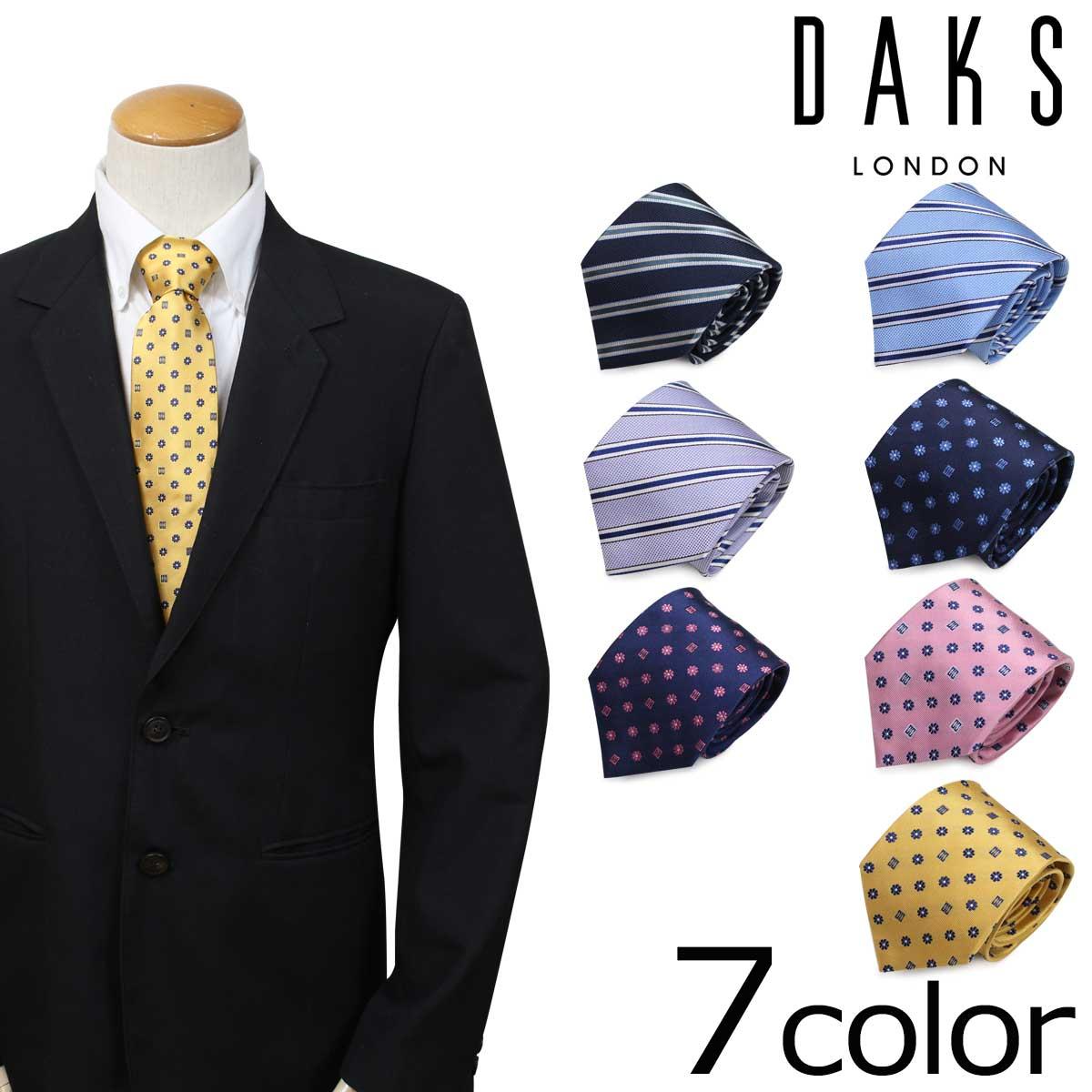 DAKS ダックス ネクタイ イタリア製 シルク ビジネス 結婚式 メンズ [4/17 追加入荷]