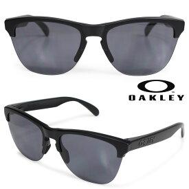 【最大600円OFFクーポン】 Oakley Frogskins lite オークリー サングラス フロッグスキン ライト US FIT メンズ レディース ブラック OO9374-01