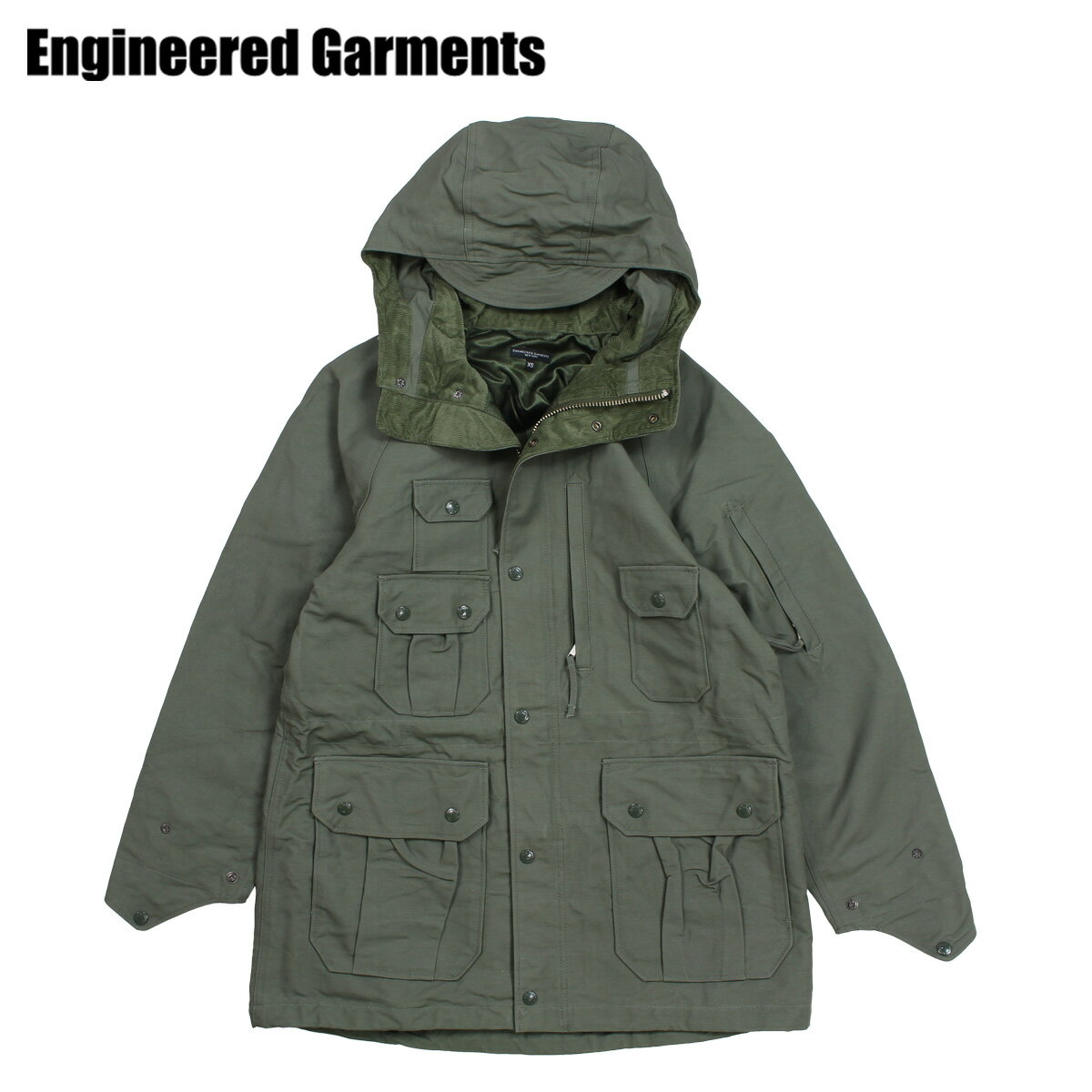 ENGINEERED GARMENTS FIELD PARKA エンジニアドガーメンツ ジャケット メンズ マウンテンパーカー オリーブ F8D1280