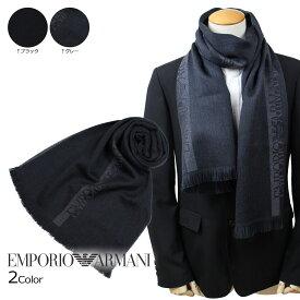 EMPORIO ARMANI 6250078P307 エンポリオ アルマーニ マフラー メンズ ウール イタリア製 ビジネス カジュアル