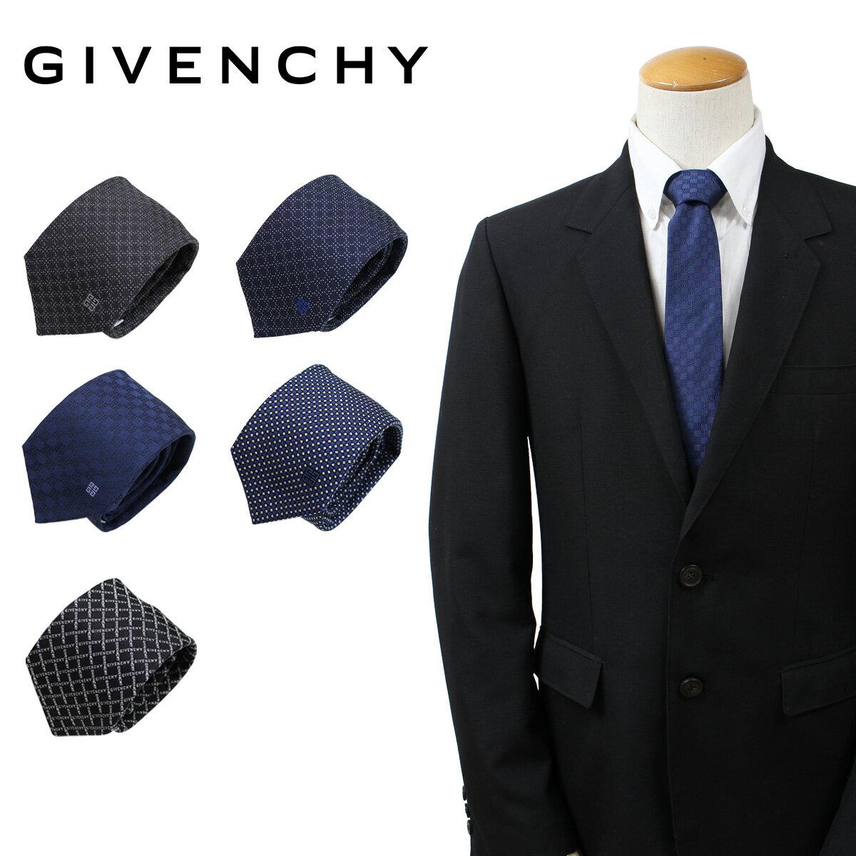 GIVENCHY ジバンシー ネクタイ シルク メンズ ジバンシイ カジュアル ビジネス 結婚式 イタリア製