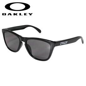 【最大1000円OFFクーポン】 Oakley Frogskins オークリー サングラス フロッグスキン アジアンフィット メンズ レディース ASIA FIT ブラック OO9245-7554