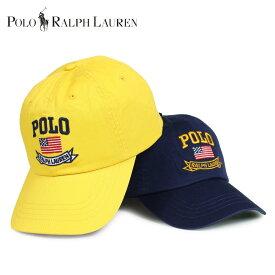 a1ca5fb10b8 POLO RALPH LAUREN 710706148 ポロ ラルフローレン キャップ 帽子 ベースボールキャップ メンズ ネイビー イエロー