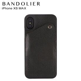 BANDOLIER iPhone XS MAX ALEX BLACK バンドリヤー ケース スマホ アイフォン レザー メンズ レディース ブラック