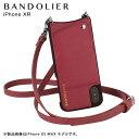 BANDOLIER iPhone XR EMMA MAGENTA RED バンドリヤー ケース ショルダー スマホ アイフォン レザー メンズ レディース…