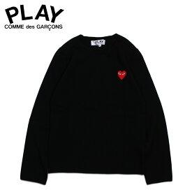 PLAY COMME des GARCONS RED HEART CREW NECK SWEATER コムデギャルソン ニット セーター レディース ブラック 黒 AZ-N067