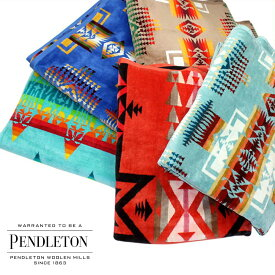PENDLETON OVERSIZED JACQUARD TOWELS ペンドルトン ブランケット タオル 大判 ひざ掛け バスタオル メンズ レディース XB233 [10/29 追加入荷]