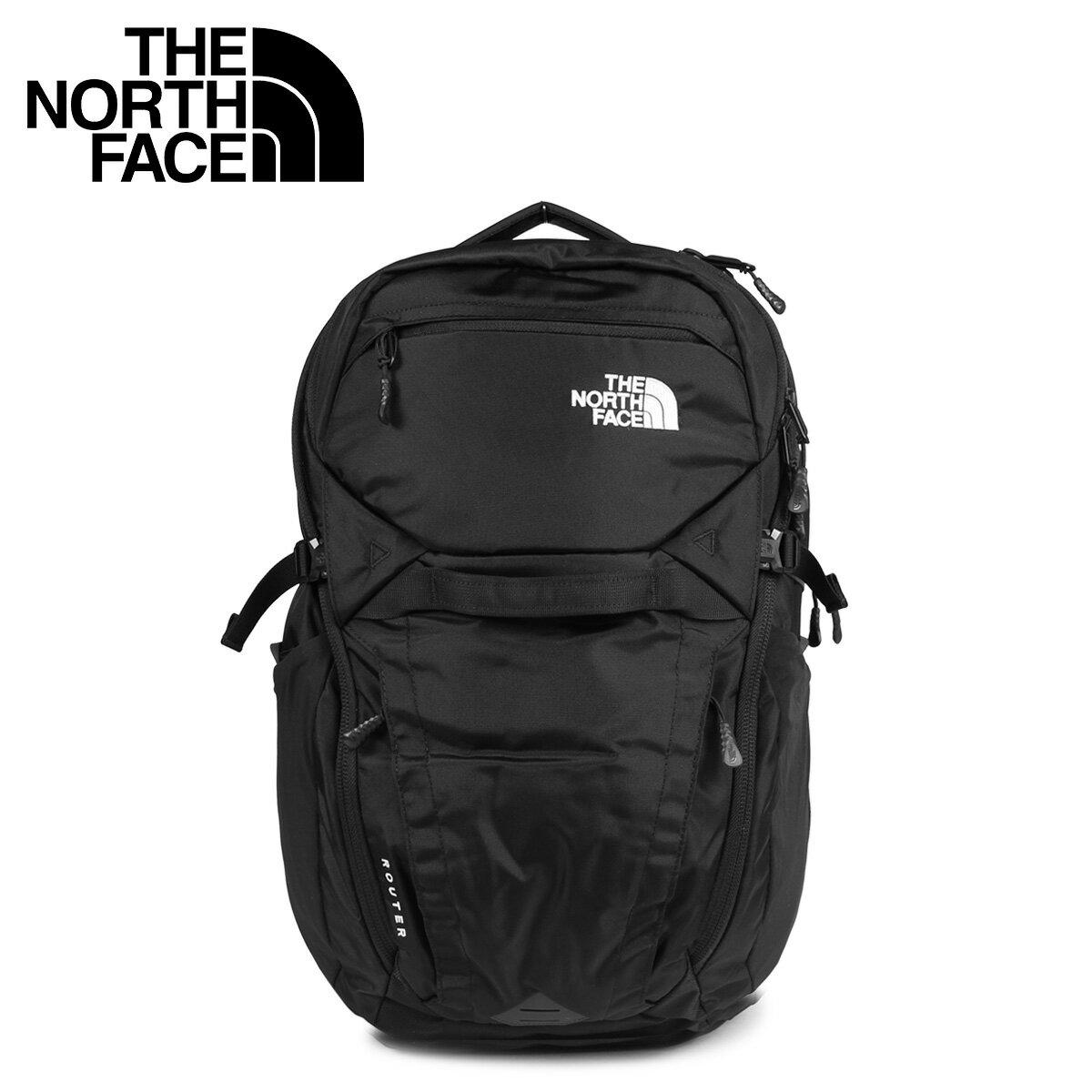 THE NORTH FACE ROUTER ノースフェイス リュック バッグ バックパック ルーター メンズ レディース 40L ブラック 黒 NF0A3ETU [4/16 新入荷]