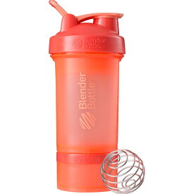 Blender Bottle PROSTAK ブレンダーボトル プロテイン シェイカー ボトル スポーツミキサー 650ml プロスタック オレンジ BBPSE22