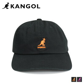 KANGOL WASHED COTTON TWILL BASEBALL カンゴール キャップ 帽子 メンズ レディース ブラック 黒 195169506