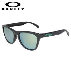 【最大600円OFFクーポン】 Oakley Frogskins ASIA FIT オークリー サングラス アジアンフィット フロッグスキン メンズ レディース ブラック 黒 OO9245-43