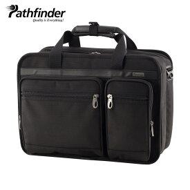 Pathfinder AVENGER パスファインダー バッグ ビジネスバッグ ブリーフケース ショルダー メンズ ブラック 黒 PF1810B
