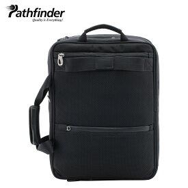 Pathfinder 3WAY REVOLUTION XT パスファインダー バッグ ビジネスバッグ リュック バックパック ブリーフケース メンズ ブラック 黒 PF6812B