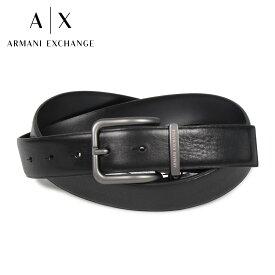 ARMANI EXCHANGE 951184-CC526 アルマーニエクスチェンジ ベルト レザーベルト メンズ 本革 ブラック 黒