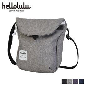 hellolulu DESI ハロルル ショルダーバッグ バッグ デシ メンズ レディース 2.5L ブラック ダーク グレー チャコール ダーク ブルー 黒 5075091