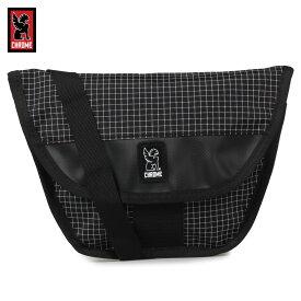【クリアランス価格】 CHROME HIP SLING クローム メッセンジャーバッグ ショルダーバッグ ヒップ スリング メンズ レディース グリッド ブラック 黒 BG-277