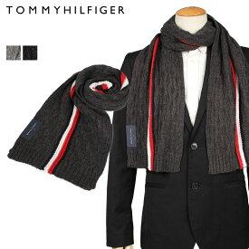 TOMMY HILFIGER MUFFLER トミーヒルフィガー マフラー メンズ レディース グレー チャコールグレー 1CT0223