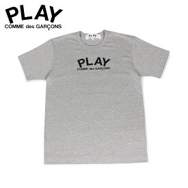 【最大1000円OFFクーポン】 COMME des GARCONS PLAY LOGO TEE プレイ コムデギャルソン Tシャツ 半袖 メンズ グレー T0720511