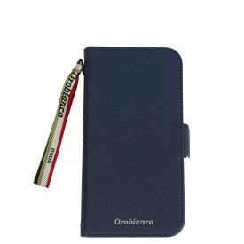 Orobianco PU LEATHER BOOK TYPE CASE オロビアンコ iPhone11 ケース スマホ 携帯 手帳型 アイフォン メンズ レディース サフィアーノ調 ブラック ネイビー カーキ レッド 黒