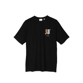 BURBERRY TEES バーバリー Tシャツ 半袖 メンズ ブラック 黒 8023785 [1/24 新入荷]