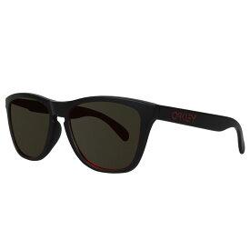 【最大600円OFFクーポン】 Oakley FROGSKINS ASIA FIT オークリー サングラス フロッグスキン アジアンフィット メンズ レディース ブラック 黒 0OO9245