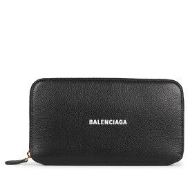 BALENCIAGA ZIP AROUND WALLET バレンシアガ 財布 長財布 メンズ レディース ラウンドファスナー ブラック 黒 594290