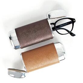 Orobianco GLASSES CASE オロビアンコ メガネケース 眼鏡ケース サングラス メンズ レディース 別注 本革 ブラック グレー ネイビー グリーン オレンジ 黒 OBGC-007