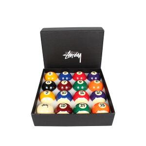 【最大600円OFFクーポン】 STUSSY JAPER BEES BILLIARD BALL SET ステューシー ビリヤードボール セット プールボール