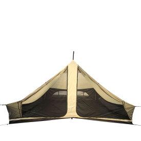 Canadian East CETO1026 カナディアンイースト 小川キャンパル グロッケ12 ハーフインナー テント グロッケ12 ブラック用 ファミリー 5人 6人用 コラボ 五角形 ベル型 アウトドア キャンプ用品 ブラック 黒