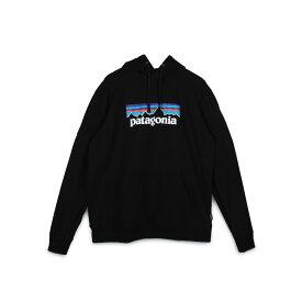 【最大600円クーポン】 patagonia P-6 LOGO UPRISAL HOODY パタゴニア パーカー スウェット プルオーバー アップライザル フーディ メンズ ブラック グレー 黒 39539