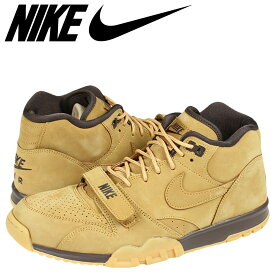 best service af8b4 374f7 NIKE ナイキ エアトレーナー スニーカー AIR TRAINER 1 MID PRM QS FLAX COLLECTION 607081-201
