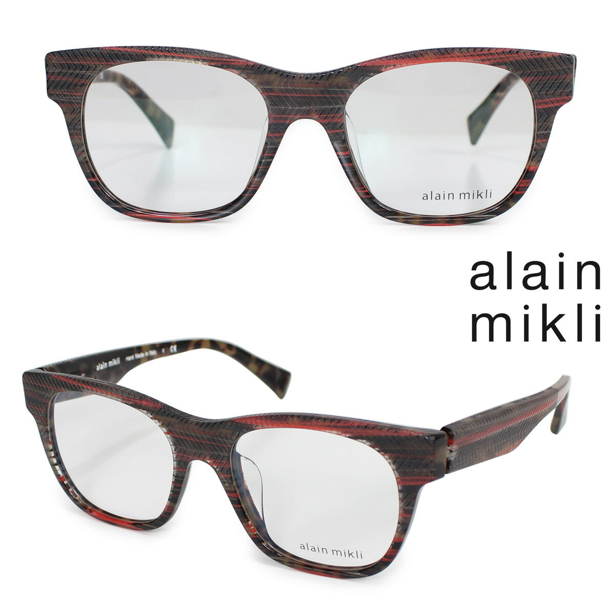 alain mikli アランミクリ メガネ メガネフレーム 眼鏡 フランス製 メンズ レディース