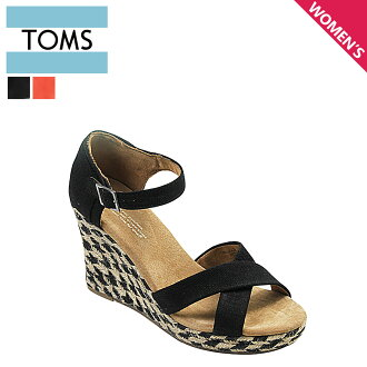 TOMS SHOES汤姆鞋凉鞋ROPE WOMEN'S STRAPPY WEDGES汤姆汤姆鞋