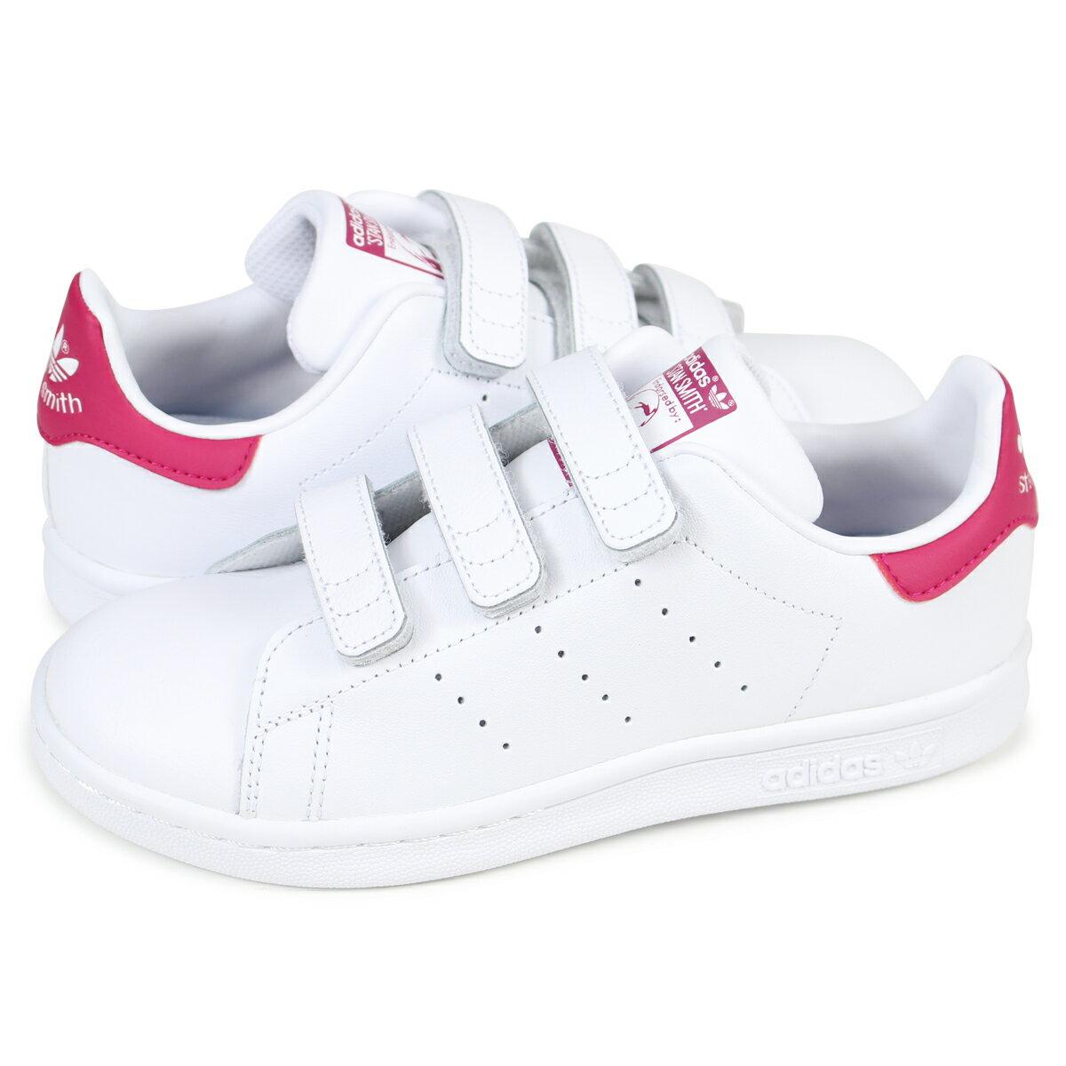 adidas Originals STAN SMITH CF C スタンスミス キッズ アディダス スニーカー B32706 靴 ホワイト 【決算セール】