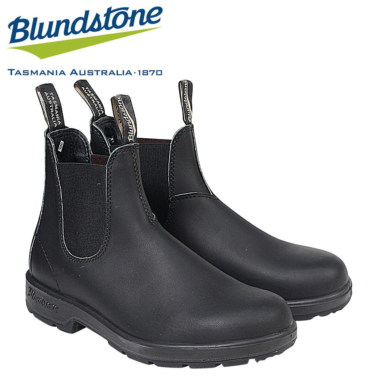 【半期決算SALE】Blundstone DRESS V CUT BOOTS 510 ブランドストーン サイドゴア メンズ ブーツ ブラック [1/16 追加入荷]