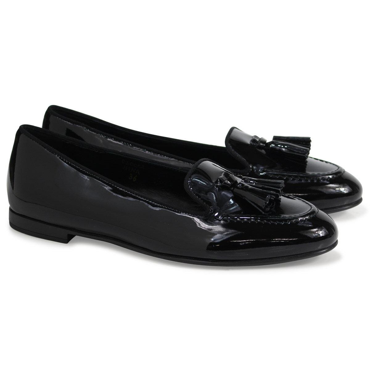 Church's NINA LOAFERS チャーチ 靴 レディース ローファー ブラック DS0001